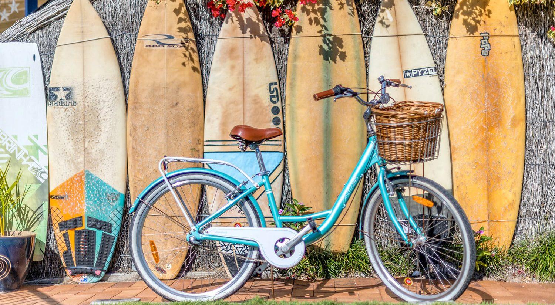 motel-accommodation-yamba-bike-surfboard | Pegasus Motel